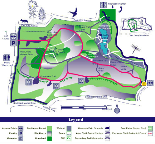 Everett Crowley Park Map